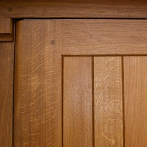 Oak Leaf Gates Automated Oak Garage Doors